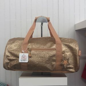 Glitter Duffel bag Large- Gold